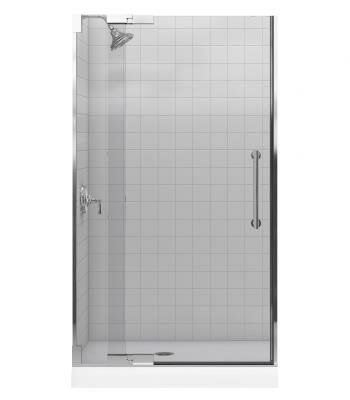 Purist 41.75 x 72.25 Pivot  Shower Door by Kohler