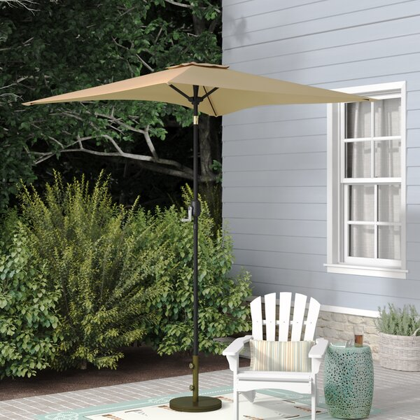 Bookout Patio Square Market Umbrella by Highland Dunes