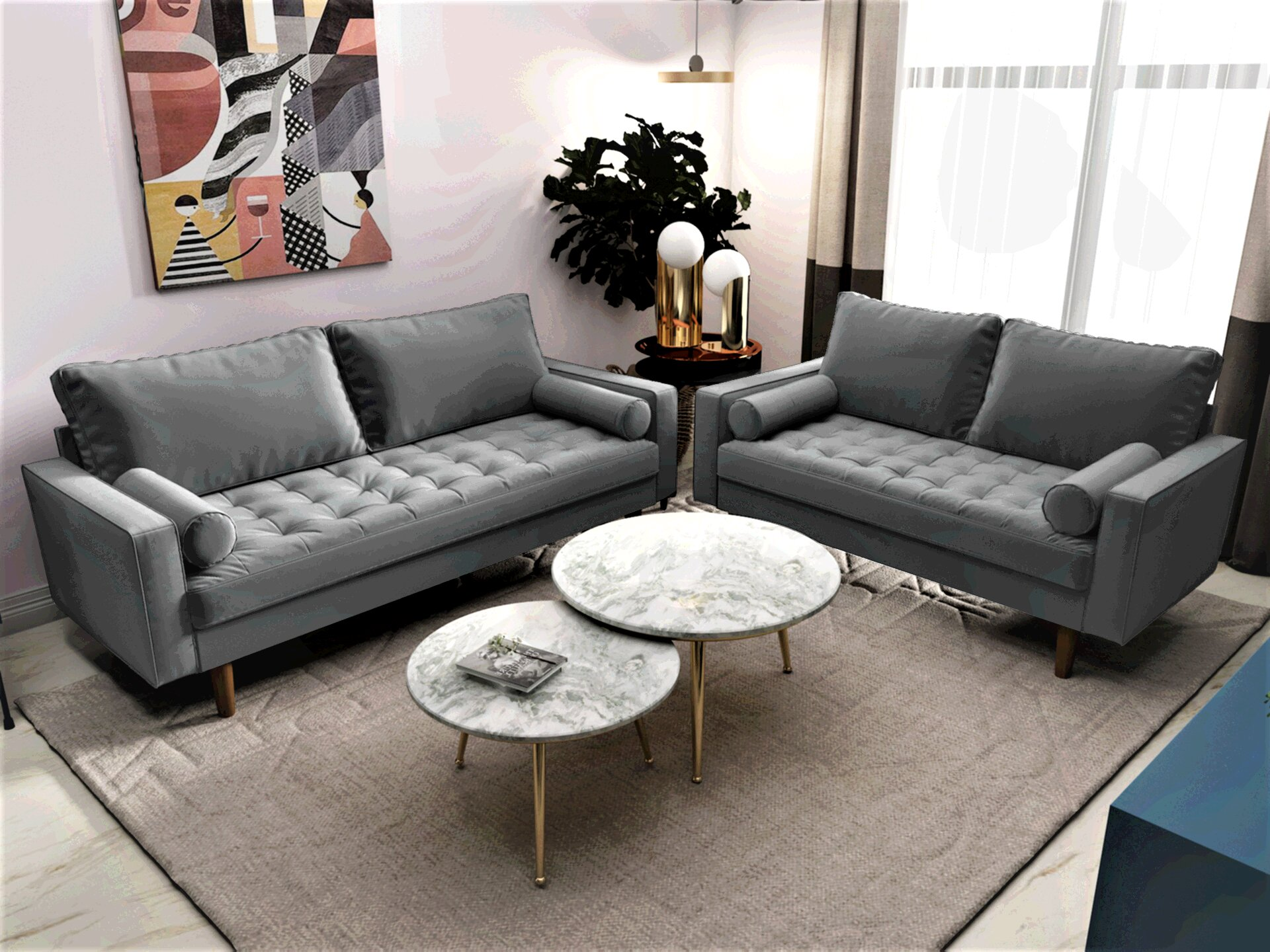 Grey Living Room Sets Couches Free Shipping Over 35 Wayfair