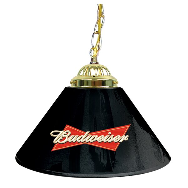 Budweiser 14 Single Shade Bar Lamp by Trademark Global