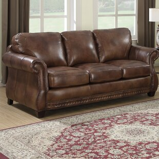 Onyx Cognac Sofa Wayfair