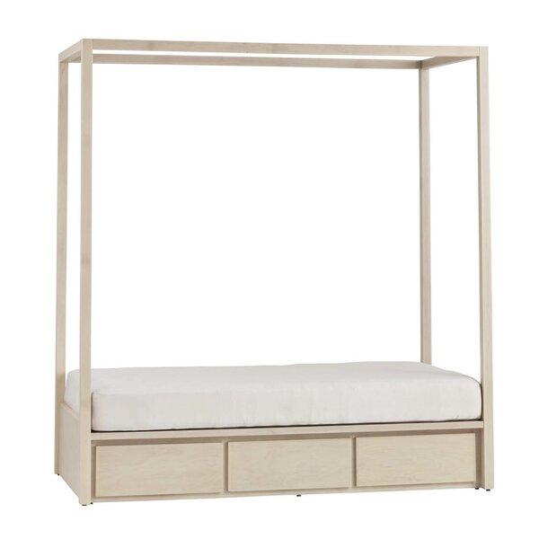 Kadon Twin Canopy Bed by Orren Ellis