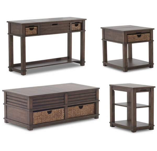 Coffman 4 Piece Coffee Table Set by Rosecliff Heights Rosecliff Heights