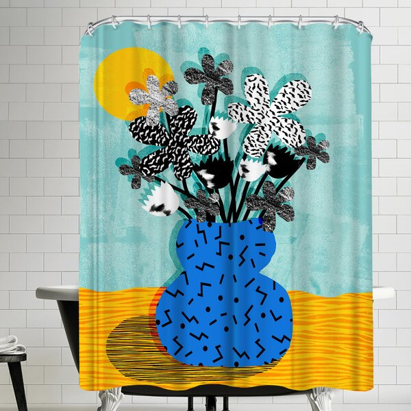 Wacka Designs Fave Shower Curtain by East Urban Home