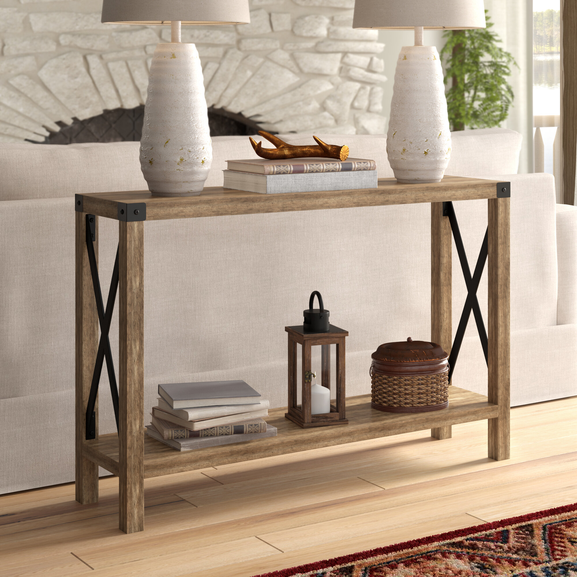 big sale 23793 e3199 extra large console table You'll Love in 2019 | Wayfair