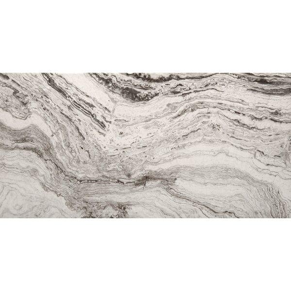 Pergamo 12 x 24 Porcelain Field Field Tile in Bianco by Emser Tile