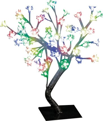 Snowtime 48 LED Light Blossom Tree by Hometime