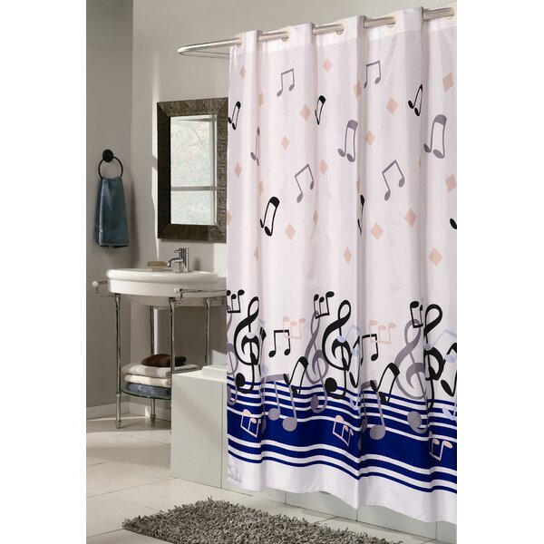 Delane Shower Curtain by Latitude Run