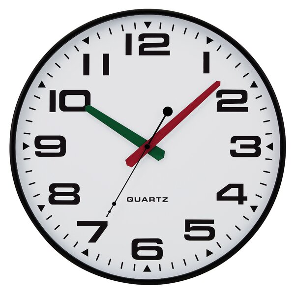 13 Slim Profile Wall Clock by Symple Stuff