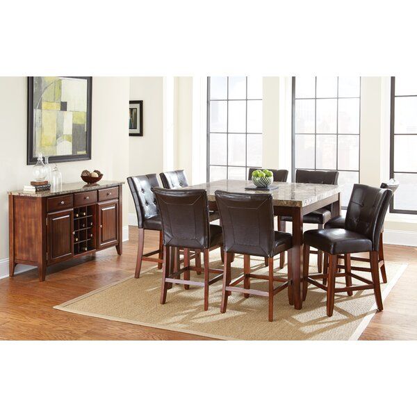 Lawhon Counter Height Dining Table by Millwood Pines