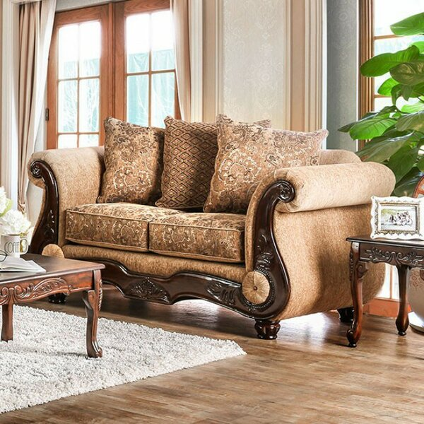 Conde Sophisticated Sofa by Fleur De Lis Living