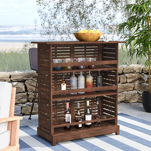 Samora Outdoor Home Bar by Beachcrest Home