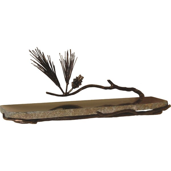 Pine Wall Shelf by Quiescence