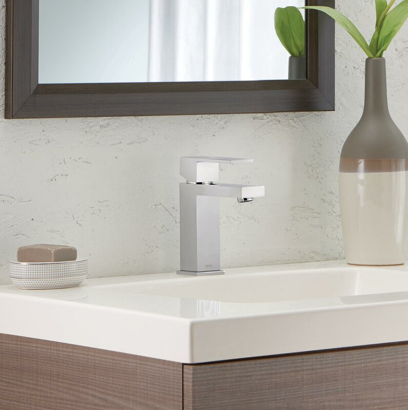 Ara Single Hole Bathroom Faucet With Drain Assembly