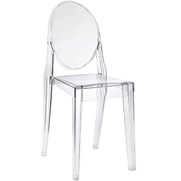 Bryker Woods Transparent Dining Chair by Orren Ellis