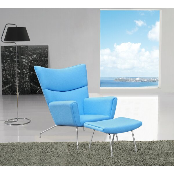 Wingback Chair by Fine Mod Imports