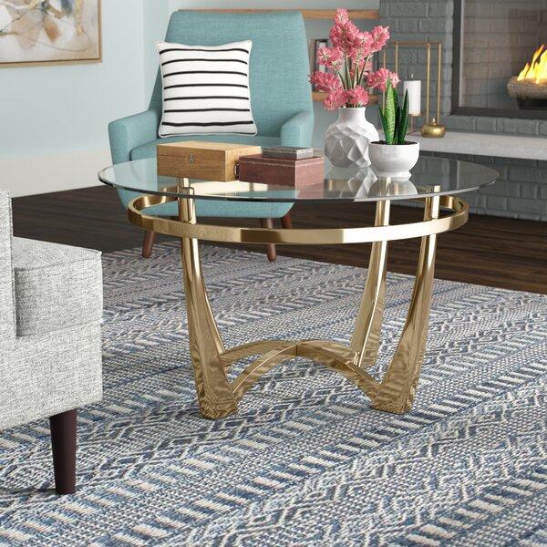 Berton Coffee Table by Brayden Studio Brayden Studio