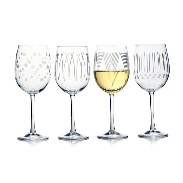 Dimattia 4-Piece 19 oz. Glass Snifter Glasses Set (Set of 4) by Ebern Designs