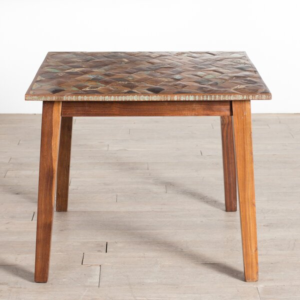 Willard Square Solid Wood Dining Table by Loon Peak