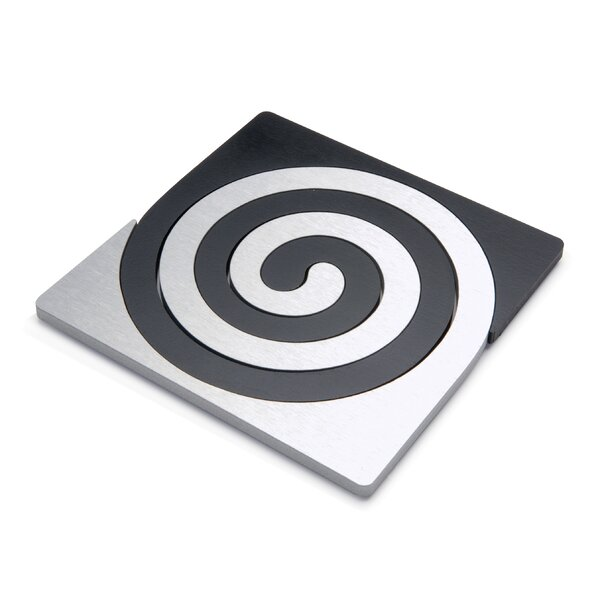 2 Piece Zebra Trivet Set by Scott Henderson Design