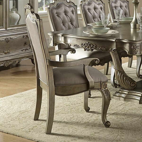 Turville Upholstered Dining Chair (Set of 2) by Astoria Grand