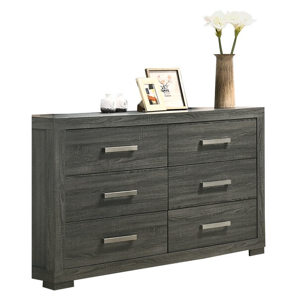 Nahabed 6 Drawer Dresser by Ebern Designs