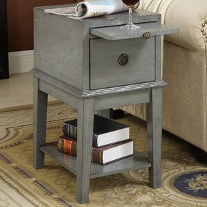 Joplin End Table with Storage ..