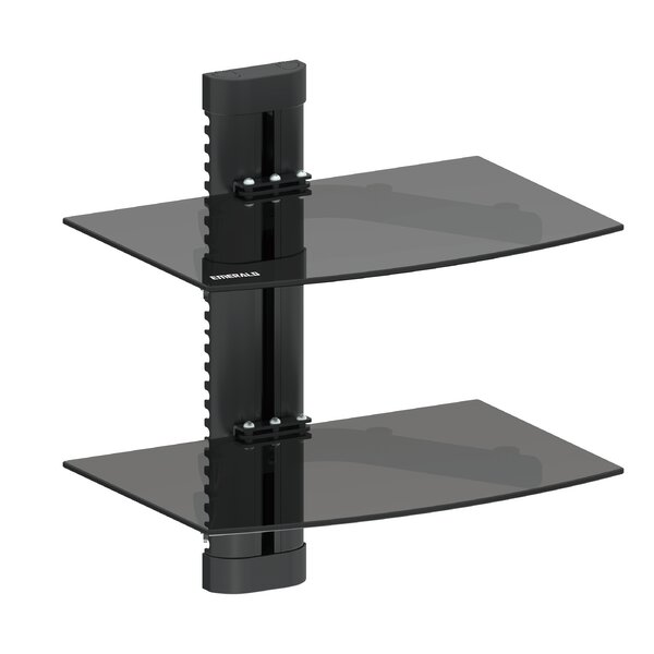 Emerald Double Shelf Wall Mount by GForce