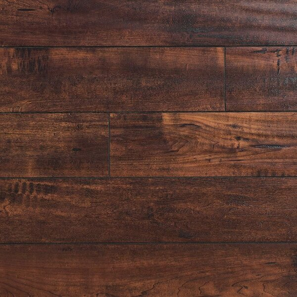 Heartland 5 x 48 x 12mm Maple Laminate Flooring in Saddlebag by Bellami