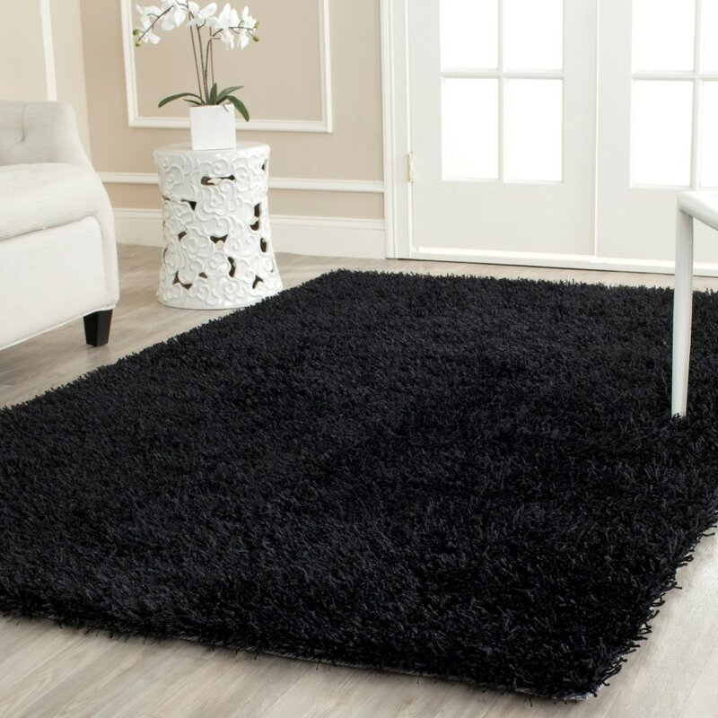 p x round shag safavieh area rugs california black ft rug