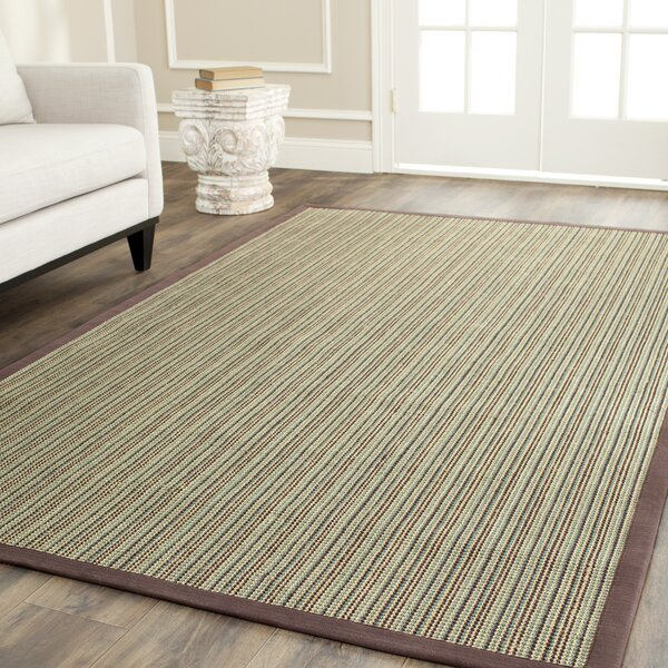 Greene Hand-Woven Blue/Purple Rug by Beachcrest Home
