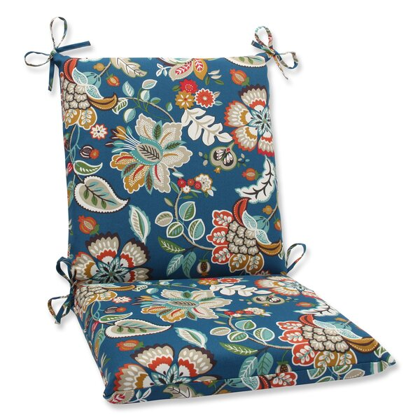 Telfair Peacock Indoor/Outdoor Lounge Chair Cushion by Pillow Perfect