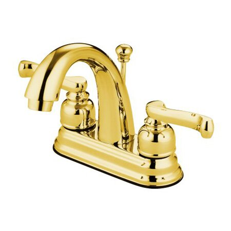 Royale Centerset Bathroom Faucet with Drain Assembly by Elements of Design