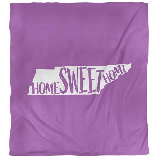 Home Sweet Tennessee Single Reversible Duvet Cover