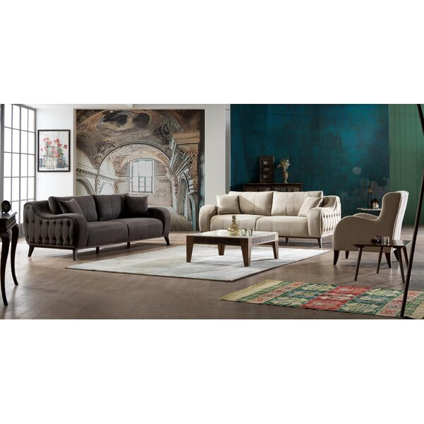 Danos Sleeper Contemporary Living Room Collection by Brayden Studio