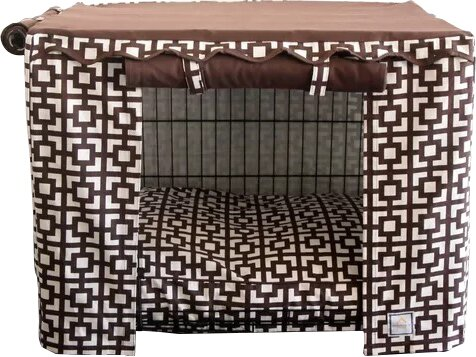 Matching Dog Crate Bed by BowhausNYC