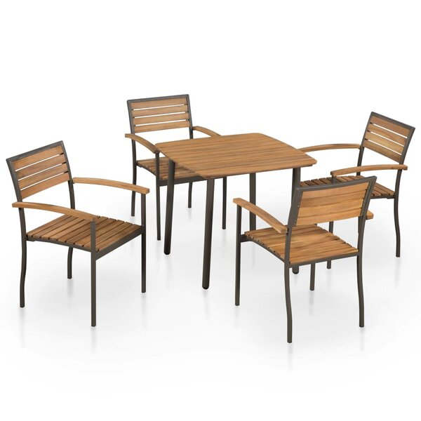 Koeller 5 Piece Dining Set by Union Rustic
