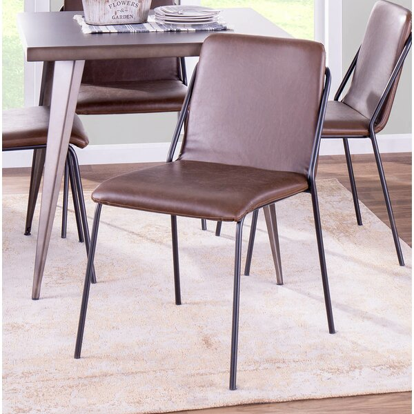 Avicia Upholstered Dining Chair (Set of 2) by Union Rustic