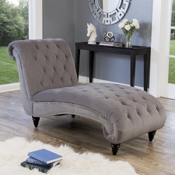 Charleena Chaise Lounge By House Of Hampton