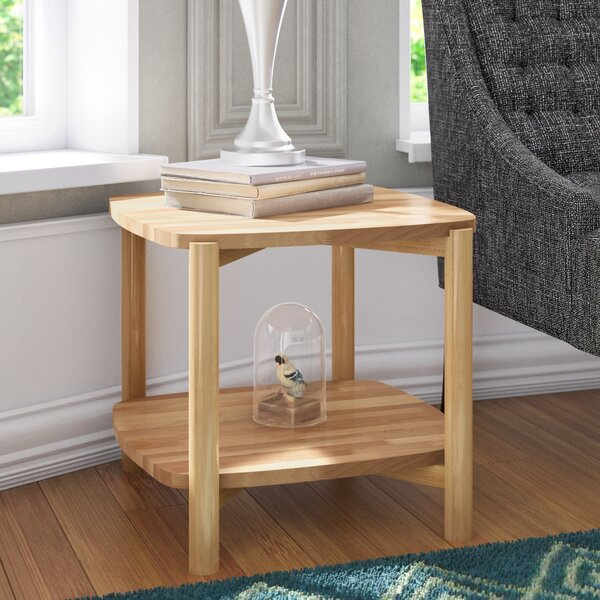 Janes Modern Solid Wood European End Table With Storage By Winston Porter