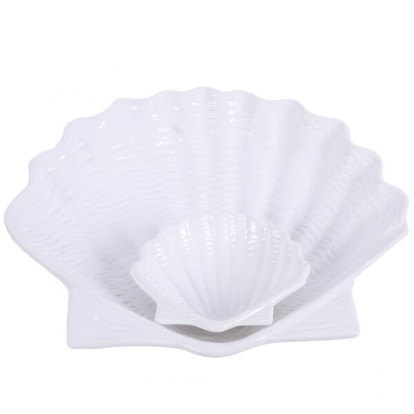 2 Piece Chip and Dip Tray Set by DEI