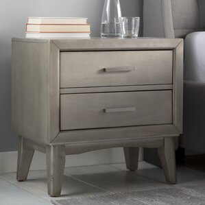 Siding Spring 2 Drawer Nightstand by Latitude Run