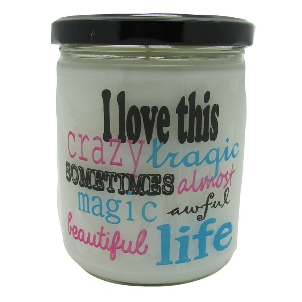 I Love this Life... Orange Clove Jar Candle by Star Hollow Candle Company
