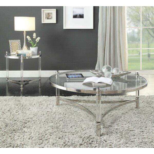 Pineville 3 Legs Coffee Table by Orren Ellis Orren Ellis