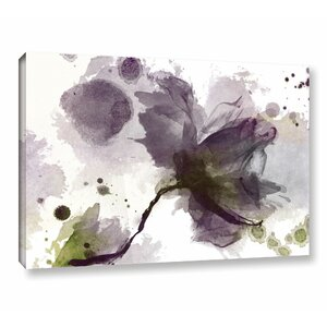 Abstract Flower' Print on Canvas by Zipcode Design