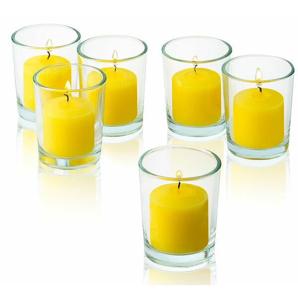 Glass Votive Set (Set of 24) by Light In the Dark