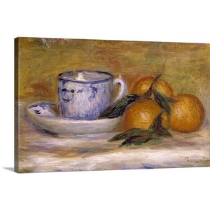 'Still Life, ca.1908' by Pierre-Auguste Renoir Painting Print on Wrapped Canvas by Great Big Canvas