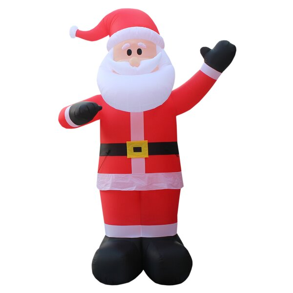 Christmas Inflatable Santa Claus by The Holiday Ai