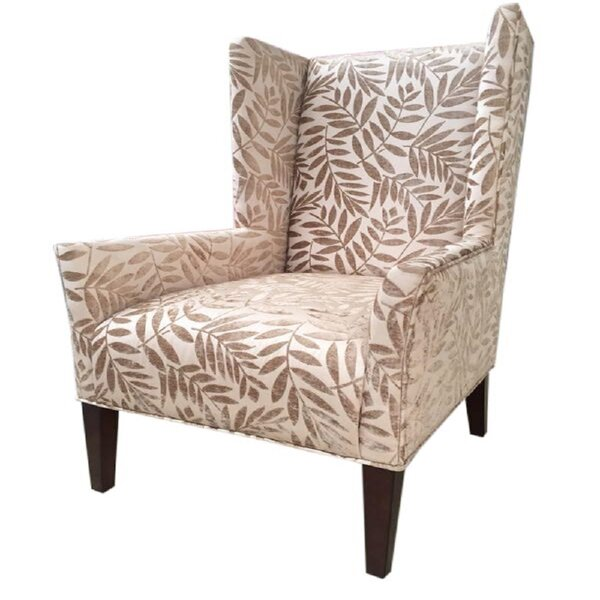 Adalheida Wingback Chair by August Grove