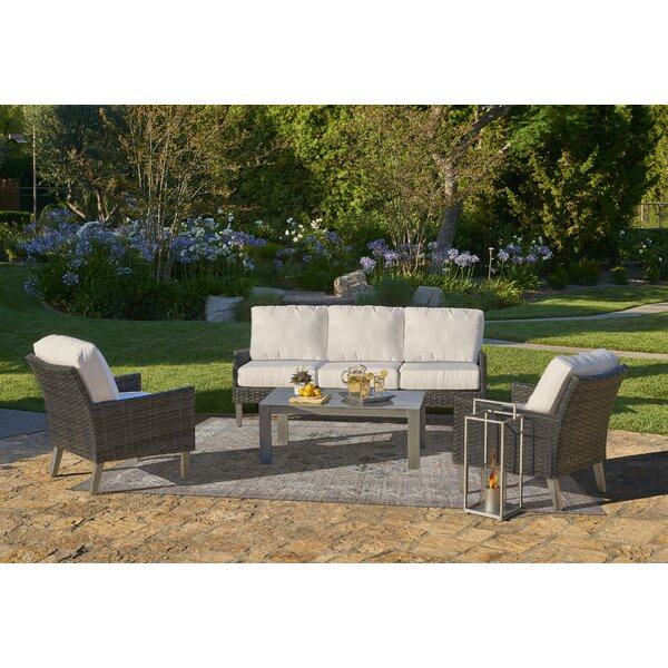 Macklin Outdoor Conversation Set by Ebern Designs